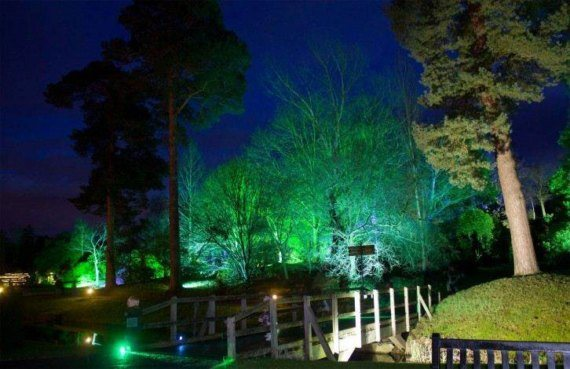 Lighting Installation at Hever Castle