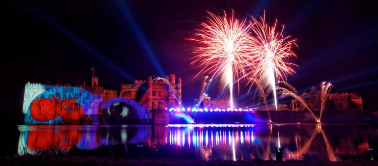 Firework Display at Leeds Castle