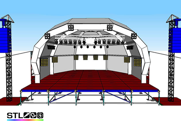 Stage Lighting Project