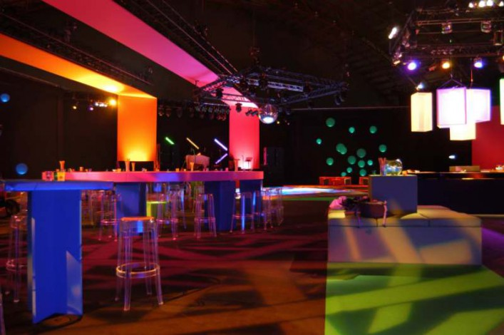 Lighting at Indoor Ashford Venue